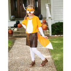 DIY easy to make Fox Halloween Costume