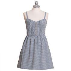summer dresses, gingham dress, dress barn