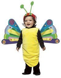 Very Hungry Caterpillar butterfly costume