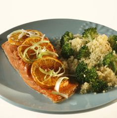 Citrus-Soy Salmon serves 4, but it divides in half easily to serve 2 or doubles to serve 8. Keep this recipe handy - it's great for last minute entertaining!