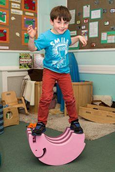 Tumbling furniture at springfield nursery on pinterest for Gross motor skills equipment