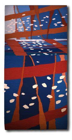 Laurie dill-Kocher, artist - tapestry @Design Hub Hamilton Hamilton dill-Kocher