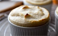 // Pear and Apple Soufflé