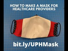 Instructional video for sewing the Olson mask (COVID-19) - YouTube