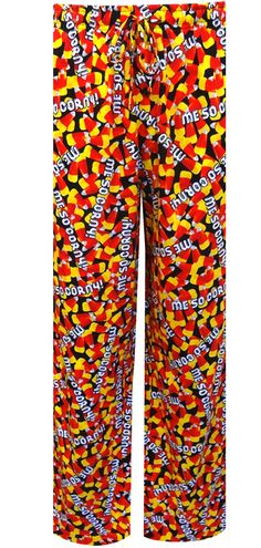 WebUndies.com Halloween Candy Corn Me So Corny Lounge Pants