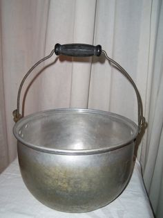 Vintage Aluminum Viko Large Stew Kettle Pot with by alottocollect, $24.95