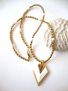 Vintage Napier Arrow Necklace