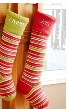 Personal Creations #Gifts  #Personalizedgifts Personalized Christmas Stockings at Personal Creations - Great Personalized Gifts via- http://www.AmericasMall.com/personalcreations-gifts