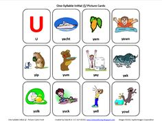 Initial Y: Free Speech Therapy Articulation Picture Cards - Pinned by @PediaStaff – Please Visit http://ht.ly/63sNt for all our pediatric therapy pins