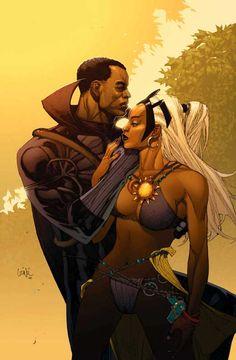 Black Panther  Storm - Leinil Francis Yu