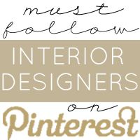 A collection of must-have design and product suggestions, links to our best design posts, and design tips from your favorite Interior Designer Bloggers.
