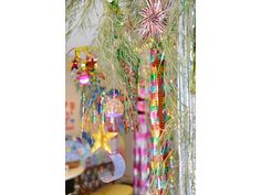 七夕 風鈴  The Star Festival bamboo decoration.  Wind chime
