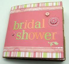 Creating a Bridal Shower Scrapbook