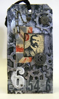 Tag and tutorial by Shelly Hickox.