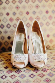 From Style Me Pretty! Love these shoes for the wedding! Photography By / http://tinywater.com,Coordination By / http://asavvyevent.com