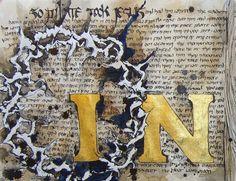 Illuminated Manuscript - Gospel of John