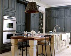 gray kitchen - Google Search