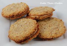 Coconut Cashew Sandwich Cookies