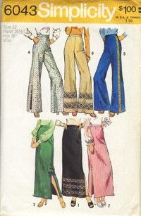 70;s.  Yes, I remember making my own clothes.  How awesome is that?