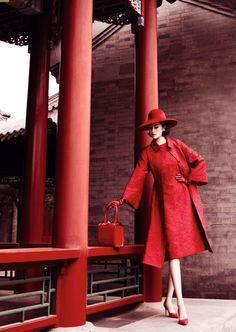 photo mario testino | vogue china