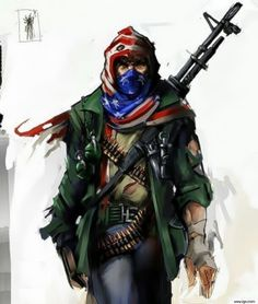 The American freedom fighter