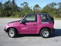 Pink Geo tracker!