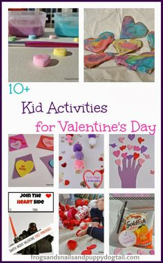 10+ Kid Activities for Valentine's Day by FSPDT