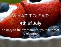 July 4 Recipes