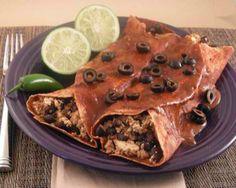Smoky Black Bean Enchiladas Recipe
