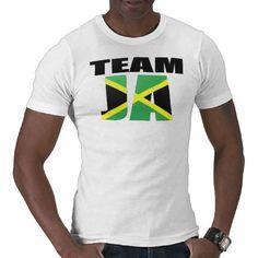 #TeamJa Jamaican Flag T-shirt #London2012