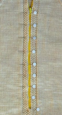 Zippers inKnits - Knitting Tutorial
