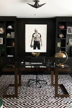 60 Masculine Office Decor Inspiration - PDB Trending