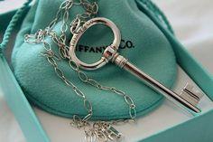 Tiffany's key necklace