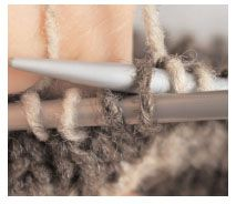 Meg Swansen answers a question on how to increase in the same stitch without creating a purl bump. So easy.