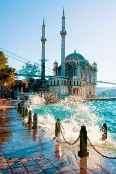 The Ortakoy Mosque, Istanbul