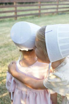 Precious Amish girls ...