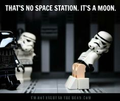 Mooning Stormtrooper....yes I'm an 8 year old boy sometimes.