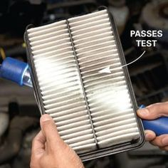 Replace your air filter in minutes. And vacuum out debris while you're at it.