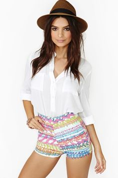 Reef Tap Shorts by Nasty Gal