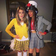'90s Girl Halloween Costumes: Cher and Dionne - OMG we need to do this lmao!  @Brandy Waterfall Waterfall McDowell