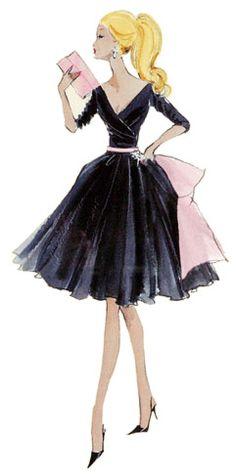 Fashion Illustration #Fashion #Women_Style #Illustration #Artistic