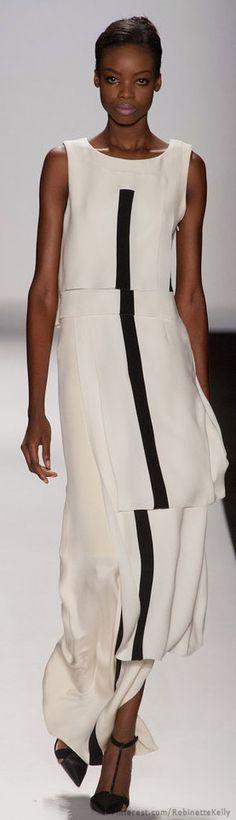 Carolina Herrera | S/S 2014 style, herrera ss, carolina herrera, black white, herrera springsumm, fine jewelry, earrings