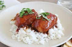 This All-Day Honey Garlic Chicken recipe is a slow cooker Asian chicken thighs recipe to gawk over. It is one slow cooked boneless chicken recipe that will wow a crowd with very little effort and can be left cooking all day.