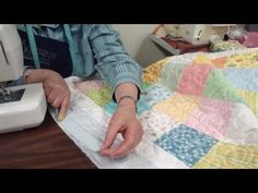 Used this as my quilting tutorial - video - PART 4/4