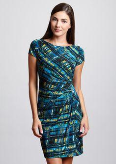 #ideeli, #muse, #blue,#shop,#wrap,#dress