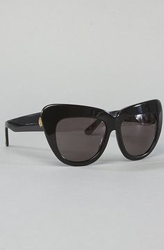 The Chelsea Sunglasses in Black by House of Harlow 1960 at karmaloop.com