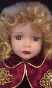 Victorian Rose Porcelain Doll