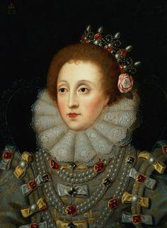 Portrait of Queen Elizabeth I, by Nicholas Hilliard