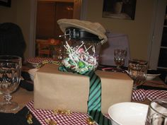 Father s day table setting on pinterest