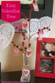 Easy Valentine Tree
